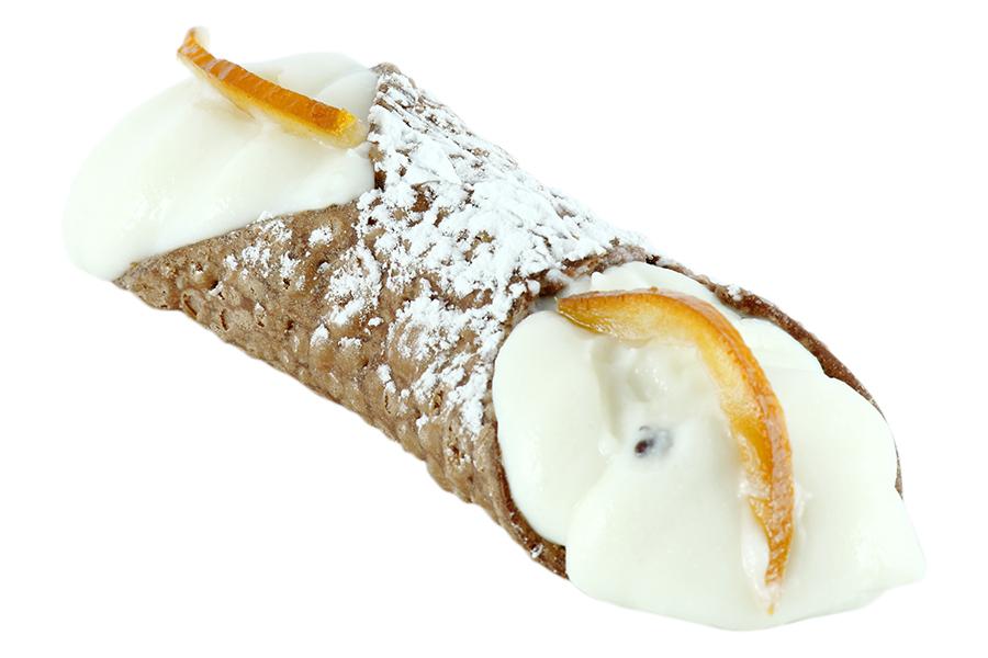 CANNOLO Tipico dolce della tradizione siciliana con ricotta. dc084bbc9444